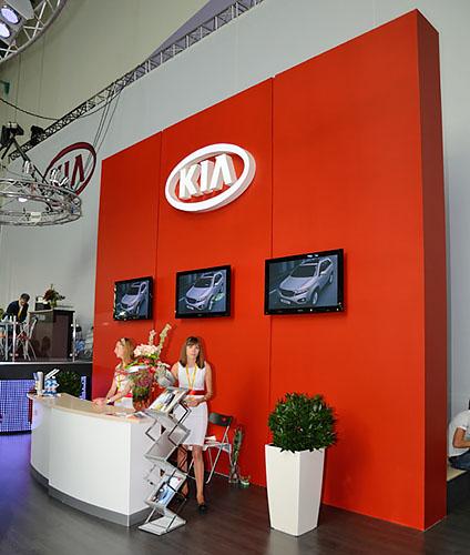1 - Выставочный стенд KIA. Моторшоу 2011
