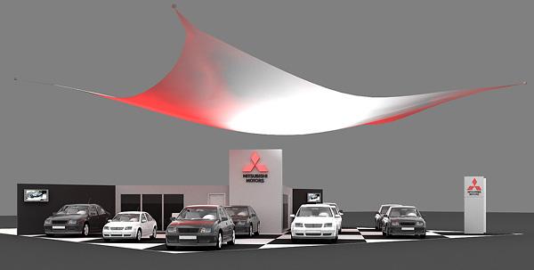 15 - 3 - Выставочный стенд Mitsubishi