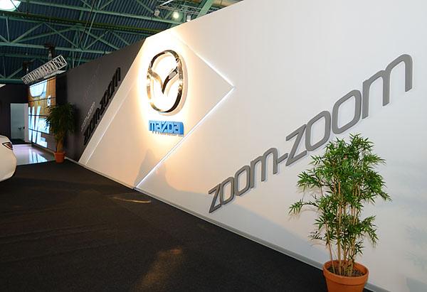 18 - 2 - Выставочный стенд Mazda. Моторшоу 2013