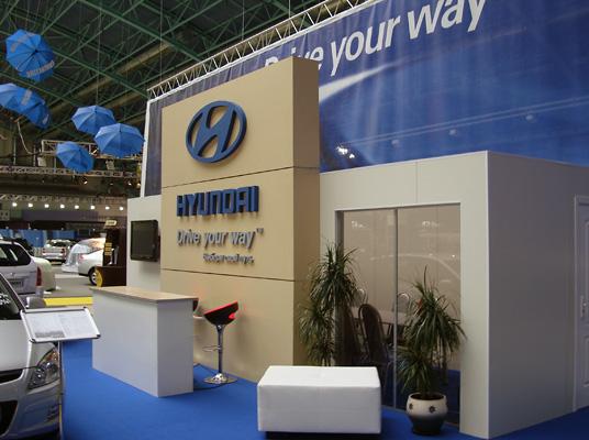 20 - 2 - Выставочный стенд Hyundai. Моторшоу 2008