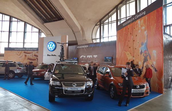 21 - Выставочный стенд Volkswagen Off-Road на выставке внедорожников