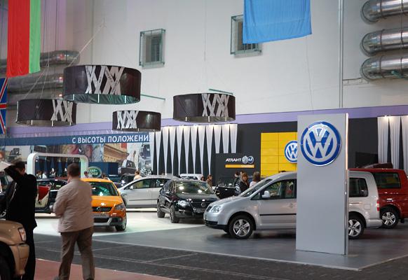 22 - 1 - Выставочный стенд VW. Моторшоу 2008