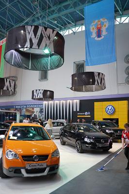 22 - 2 - Выставочный стенд VW. Моторшоу 2008