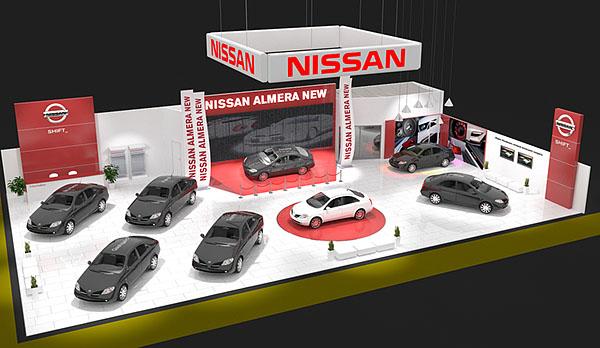 27 1 Выставочный стенд Nissan