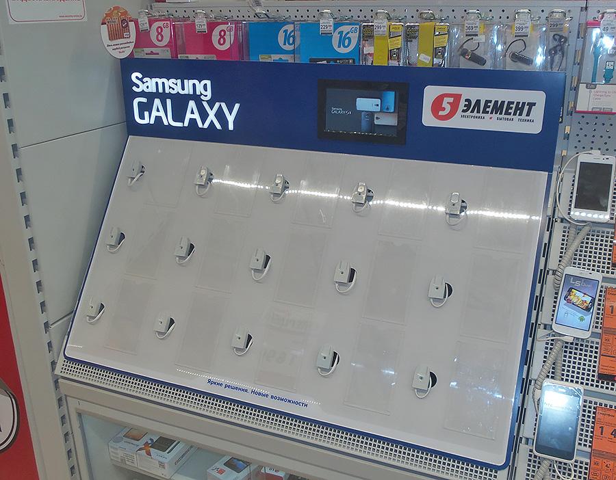 3 - Накладные панели для торгового оборудования Samsung