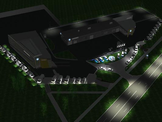 33 1 Проект ночной подсветки территории АЦ Атлант-М Сухарево