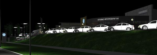 33 3 Проект ночной подсветки территории АЦ Атлант-М Сухарево