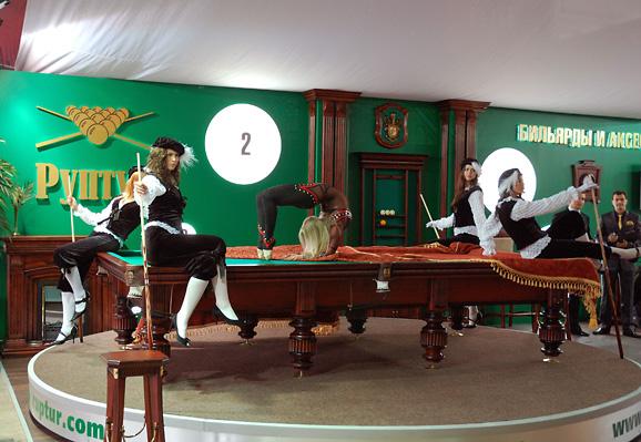 6 - 1 - Экспозиция и промоакция Руптур на выставке роскоши.