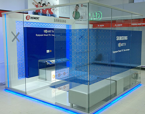 7 2 Демонстрационная зона Samsung Smart TV