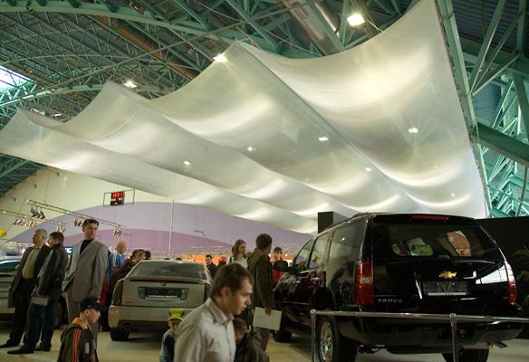 9 - 2 - Выставочный стенд Мультимоторс. Моторшоу 2007
