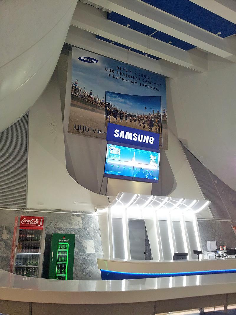 9 Бренд зона Samsung в Национальном аэропорту