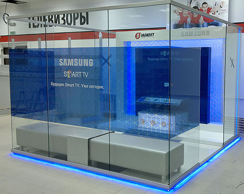7 1 Демонстрационная зона Samsung Smart TV